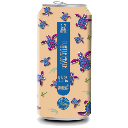 Brew York Turtle Peach (Cans) – Buy Beer online on EeBriaTrade.com