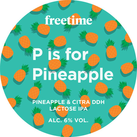Freetime P is for Pineapple – Buy Beer online on EeBriaTrade.com