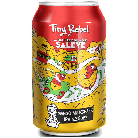Tiny Rebel Brewing Mango Milkshake – Buy Beer online on EeBriaTrade.com