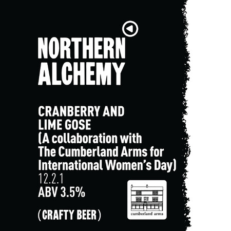 Northern Alchemy Cranberry & Lime Gose – Buy Beer online on EeBriaTrade.com
