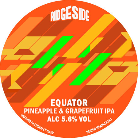 Ridgeside Brewing Co EQUATOR (Pineapple & Grapefruit) – Buy Beer online on EeBriaTrade.com