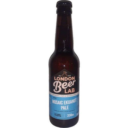 London Beer Lab Mosaic Ekuanot Pale Ale – Buy Beer online on EeBriaTrade.com