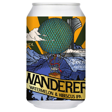 Abbeydale Brewery Wanderer - Watermelon & Hibiscus IPA – Buy Beer online on EeBriaTrade.com