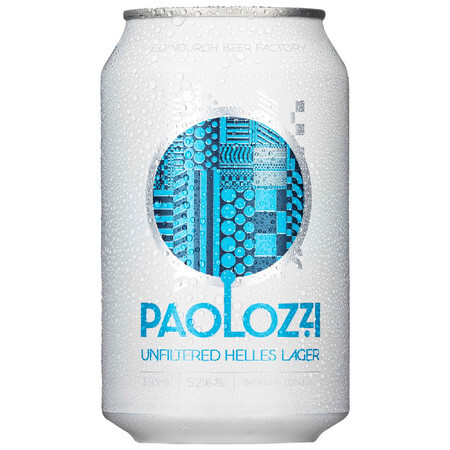 Edinburgh Beer Factory Paolozzi Unfiltered (Cans) – Buy Beer online on EeBriaTrade.com