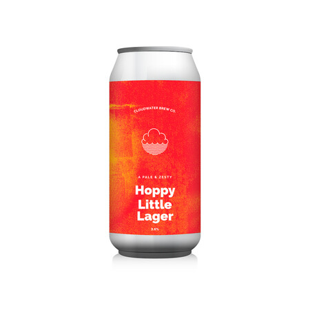 Cloudwater Brew Co Hoppy Little Lager (G. 588) (Cans) – Buy Beer online on EeBriaTrade.com