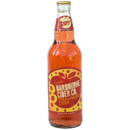Barbourne Cider Co Strawberry Cider – Buy Cider online on EeBriaTrade.com
