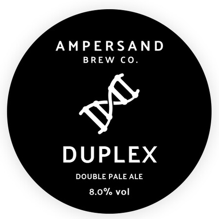 Ampersand Brew Co Duplex - Double Pale Ale – Buy Beer online on EeBriaTrade.com