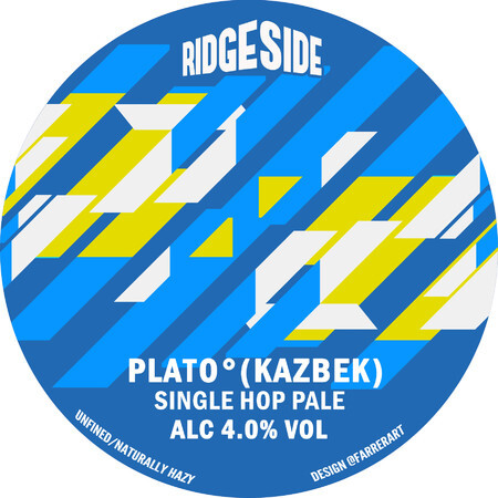 Ridgeside Brewing Co PLATO (KAZBEK) – Buy Beer online on EeBriaTrade.com