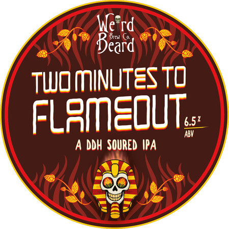 Weird Beard Brew Co Two Minutes to Flame Out – Buy Beer online on EeBriaTrade.com