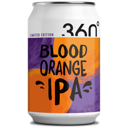 360 Degree Brewing Blood Orange IPA – Buy Beer online on EeBriaTrade.com