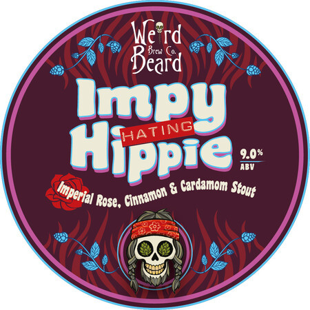 Weird Beard Brew Co Impy Hating Hippy – Buy Beer online on EeBriaTrade.com