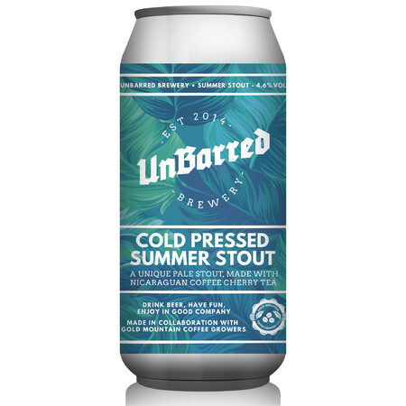 UnBarred Brewery Cold Pressed Summer Stout – Buy Beer online on EeBriaTrade.com