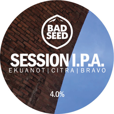 Bad Seed Brewery Session I.P.A. (Ekuanot, Citra, Bravo) – Buy Beer online on EeBriaTrade.com