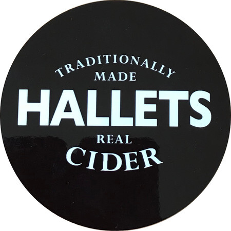 Hallets Real Cider Hallets Draught - Medium Sparkling Cider – Buy Cider online on EeBriaTrade.com