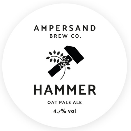 Ampersand Brew Co Hammer - Oat Pale Ale – Buy Beer online on EeBriaTrade.com