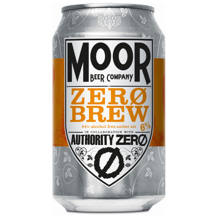 Moor Beer Company Zero Brew  – Buy Beer online on EeBriaTrade.com