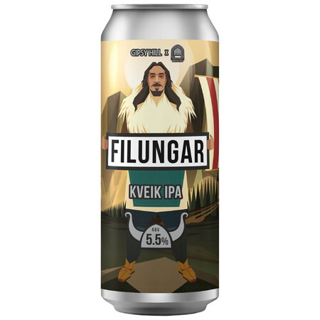 Gipsy Hill Brewing Co Filungar Kveik IPA – Buy Beer online on EeBriaTrade.com