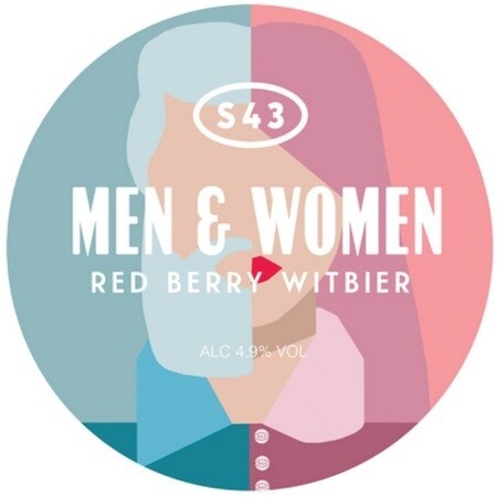 S43 Brewery Men & Woman (Redberry Witbier) – Buy Beer online on EeBriaTrade.com