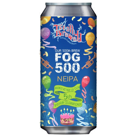 Totally Brewed Fog 500 – Buy Beer online on EeBriaTrade.com