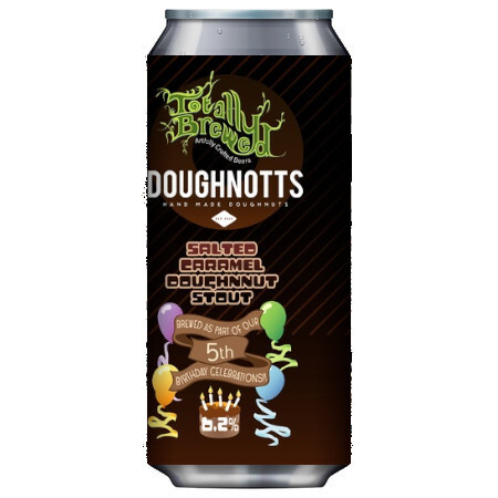 Totally Brewed Salted Caramel Doughnut Stout – Buy Beer online on EeBriaTrade.com