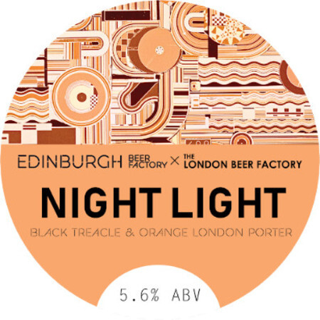 Edinburgh Beer Factory Night Light Orange Porter – Buy Beer online on EeBriaTrade.com