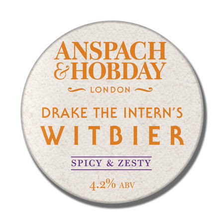 Anspach & Hobday (Drake The Intern's) The Witbier  – Buy Beer online on EeBriaTrade.com