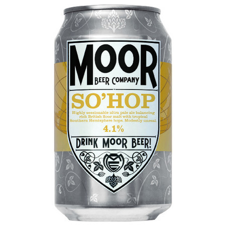 Moor Beer Company So'Hop – Buy Beer online on EeBriaTrade.com