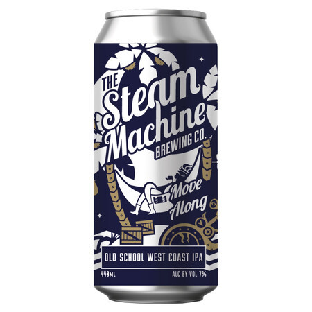 Steam Machine Brewing Co Move Along – Buy Beer online on EeBriaTrade.com