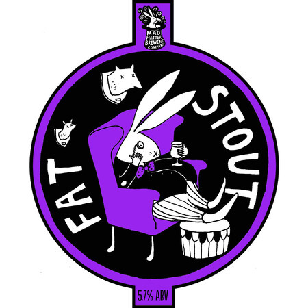 Mad Hatter Brewing Company Fat Stout – Buy Beer online on EeBriaTrade.com