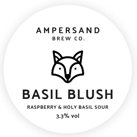 Ampersand Brew Co Basil Blush - Raspberry & Holy Basil Sour – Buy Beer online on EeBriaTrade.com