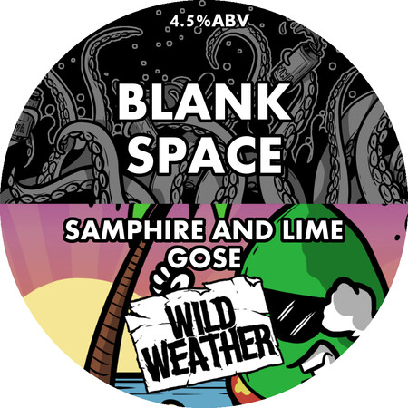Wild Weather Ales Blank Space - Lime and Samphire Kettle Soured Gose – Buy Beer online on EeBriaTrade.com