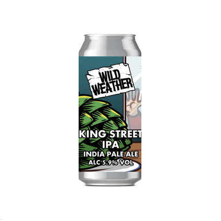 Wild Weather Ales King Street IPA - Big brother of King St Pale – Buy Beer online on EeBriaTrade.com