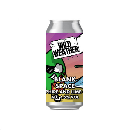 Wild Weather Ales Blank Space - Lime & Samphire Kettle Soured Gose – Buy Beer online on EeBriaTrade.com