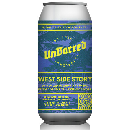 UnBarred Brewery West Side Story – Buy Beer online on EeBriaTrade.com