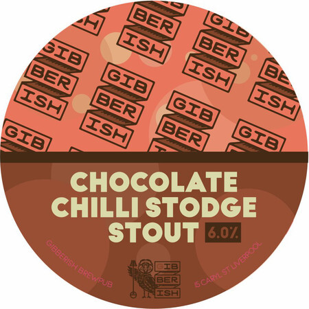 Gibberish Brewing Chocolate Chilli Stodge Stout – Buy Beer online on EeBriaTrade.com