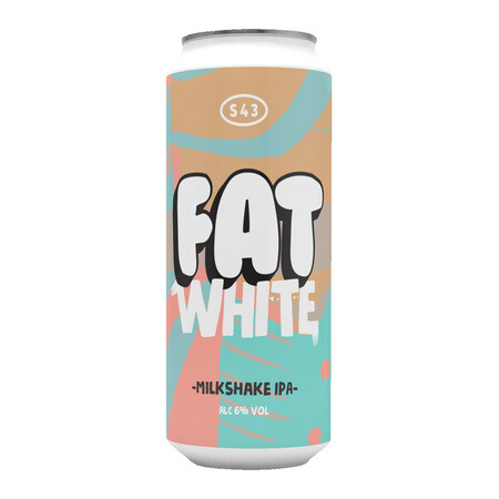 S43 Brewery Fat White (Milkshake IPA)  – Buy Beer online on EeBriaTrade.com
