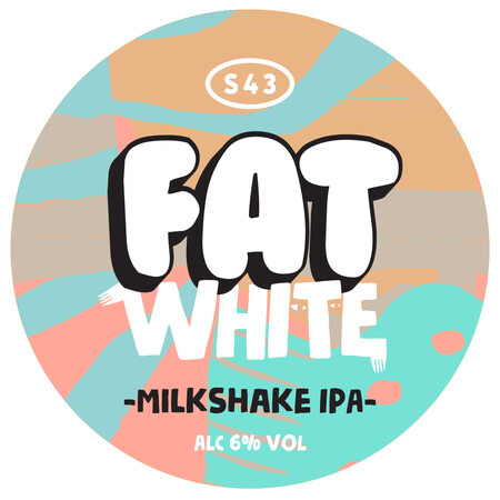 S43 Brewery Fat White (Milkshake IPA) (Pre-Order) – Buy Beer online on EeBriaTrade.com