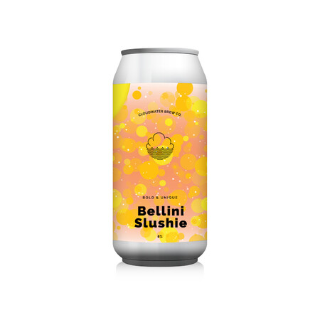 Cloudwater Brew Co Bellini Slushie (G. 625c) (CANS) – Buy Beer online on EeBriaTrade.com