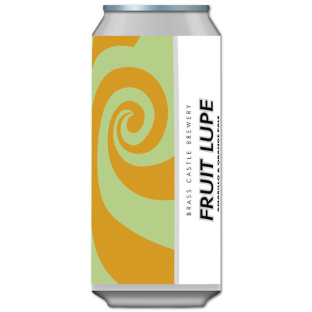 Brass Castle Fruit Lupe- Amarillo & Orange – Buy Beer online on EeBriaTrade.com