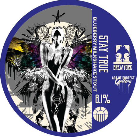 Brew York Stay True (Keg)  – Buy Beer online on EeBriaTrade.com