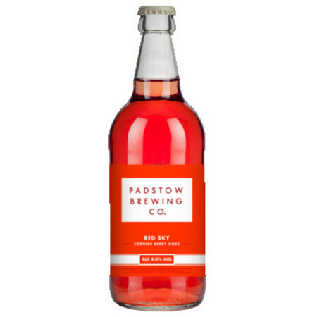 Padstow Brewing Co Red Sky - Cornish Berry Cider – Buy Cider online on EeBriaTrade.com