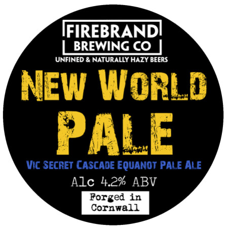Firebrand Brewing New World Citrus Pale Ale  – Buy Beer online on EeBriaTrade.com