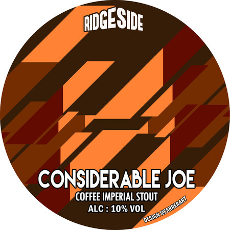 Ridgeside Brewing Co CONSIDERABLE JOE – Buy Beer online on EeBriaTrade.com
