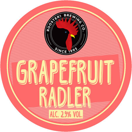 Rooster's Brewing Co. Grapefruit Radler – Buy Beer online on EeBriaTrade.com