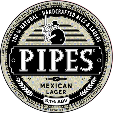 Pipes Brewery Mexican Lager – Buy Beer online on EeBriaTrade.com