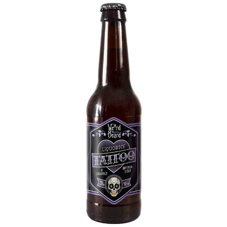 Weird Beard Brew Co Liquorice Tattoo – Buy Beer online on EeBriaTrade.com