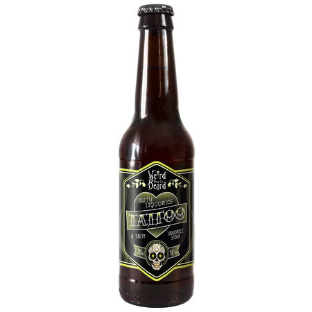 Weird Beard Brew Co Salty Liquorice Tattoo – Buy Beer online on EeBriaTrade.com
