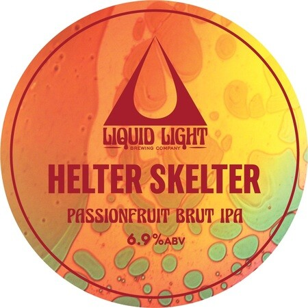 Liquid Light Brew Co Helter Skelter - Passion Fruit Brut IPA – Buy Beer online on EeBriaTrade.com