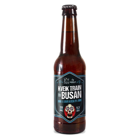 Weird Beard Brew Co Kveik Train To Busan  – Buy Beer online on EeBriaTrade.com