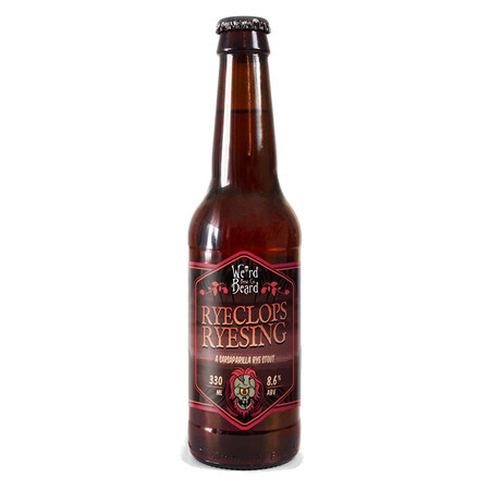 Weird Beard Brew Co Ryeclops Ryesing – Buy Beer online on EeBriaTrade.com